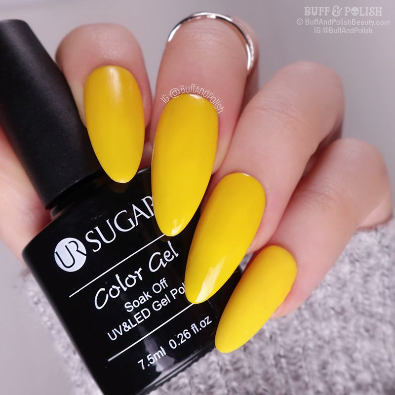 Buff & Polish - Nicole Diary Autumn Gel 6pc Set, Yellow