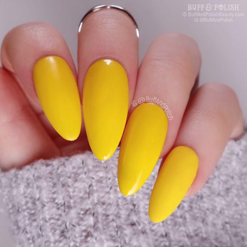 Buff & Polish - UR Sugar Autumn Gel 6pc Set, Yellow
