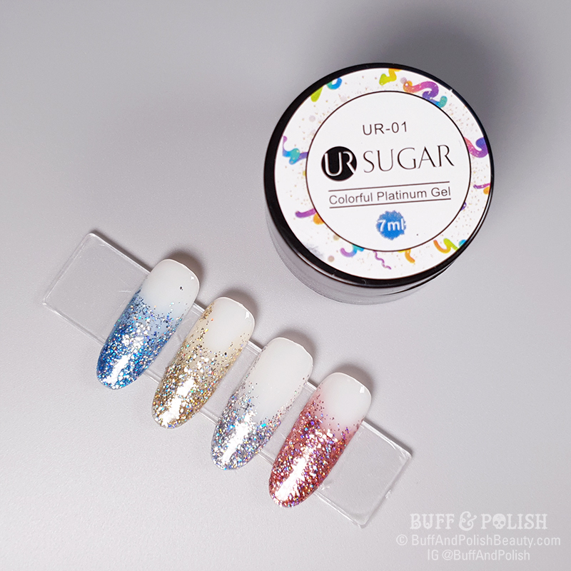 Buff & Polish - UR Sugar Platinum Gel for Born Pretty