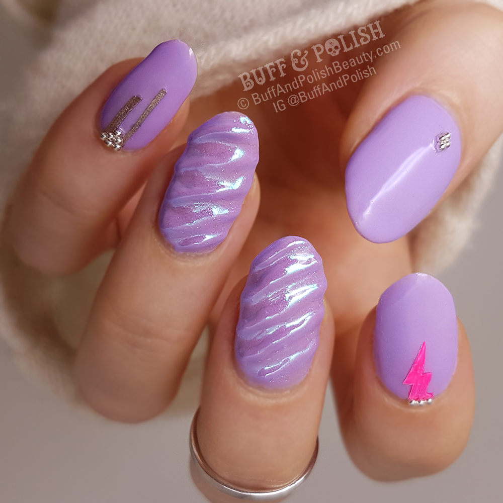 Buff-&-Polish - Unicorn Nails with Opallac Date Night