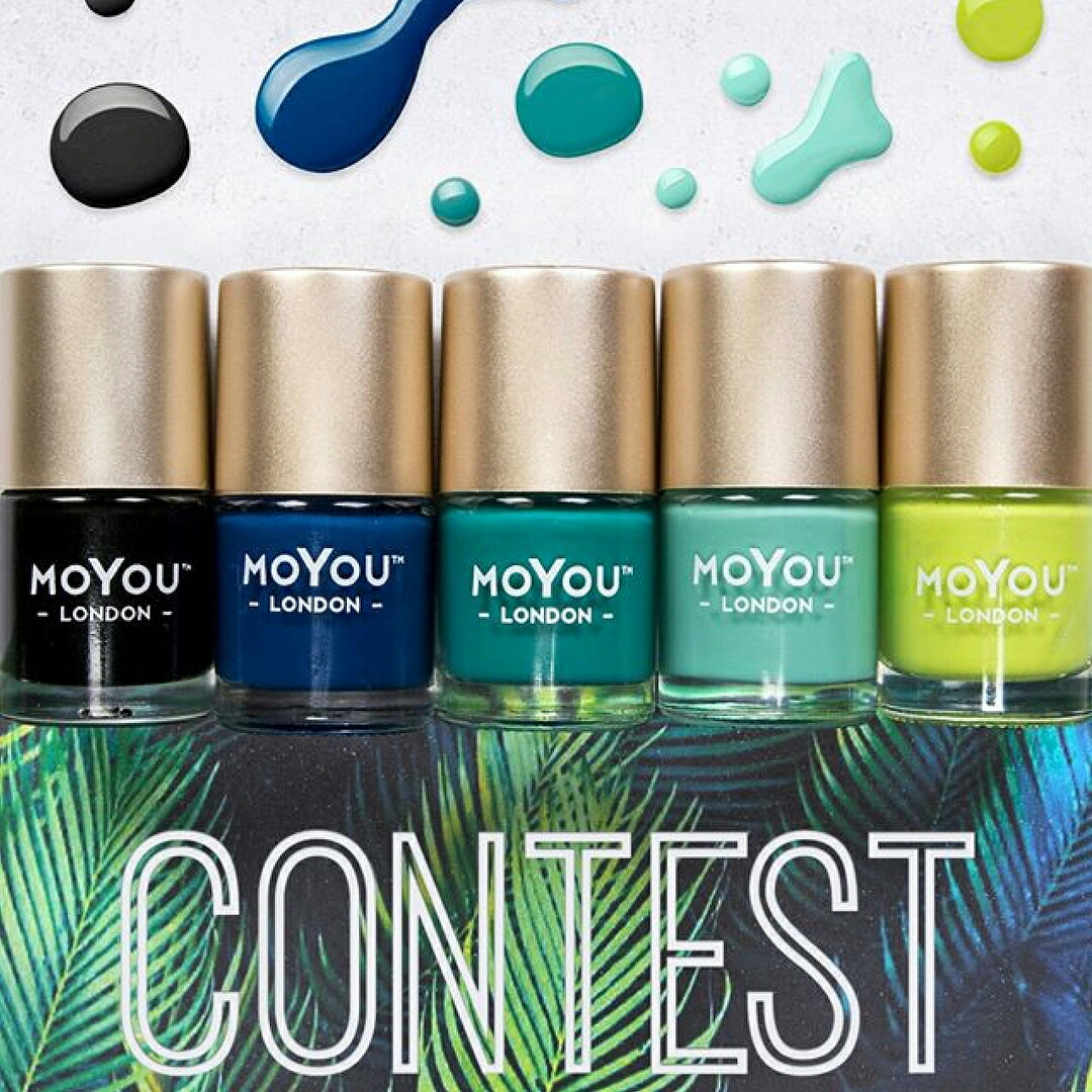 Tropical Nail Art Contest