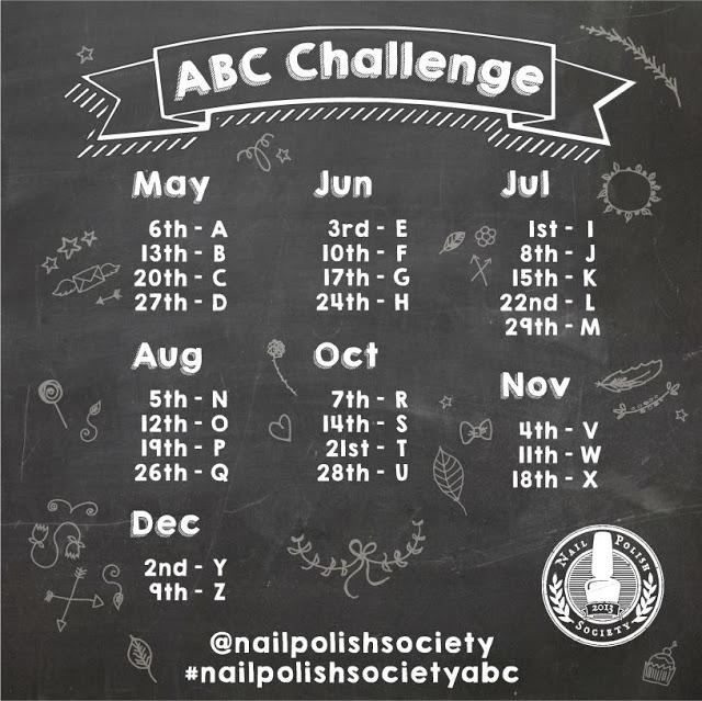 Nail Polish Society ABC Challenge