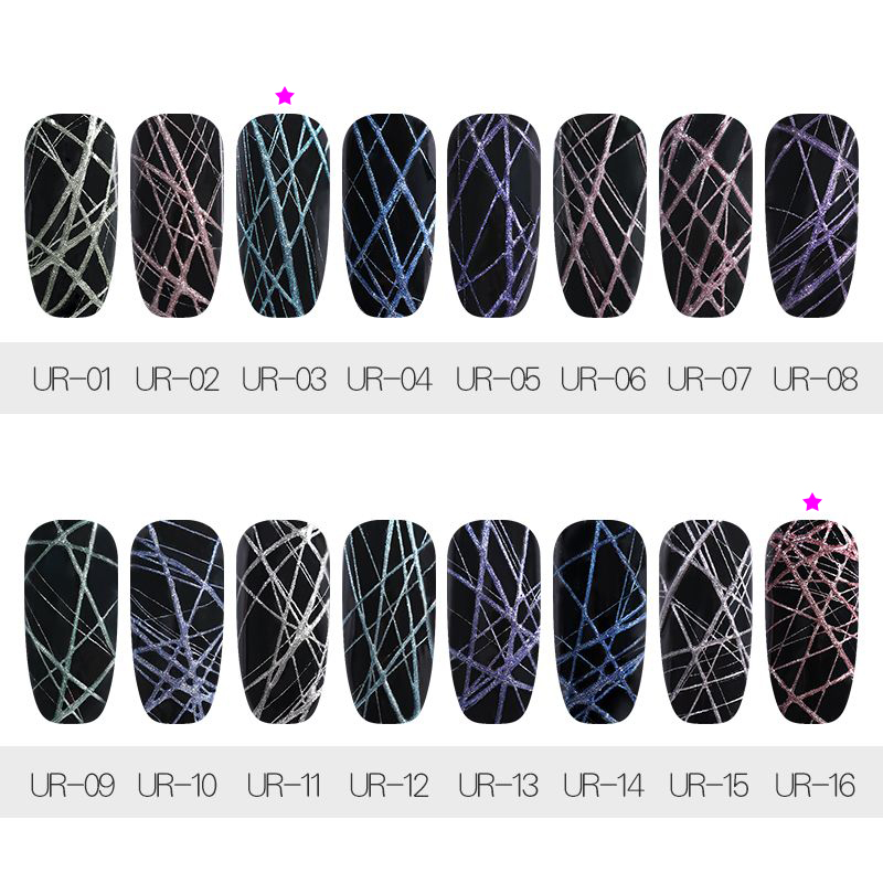 UR SUGAR 7ml Spider UV Gel Polish METALLIC, ITEM ID-46267