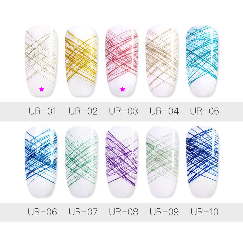 UR SUGAR 7ml Spider UV Gel Polish SHINY, ITEM ID-46396